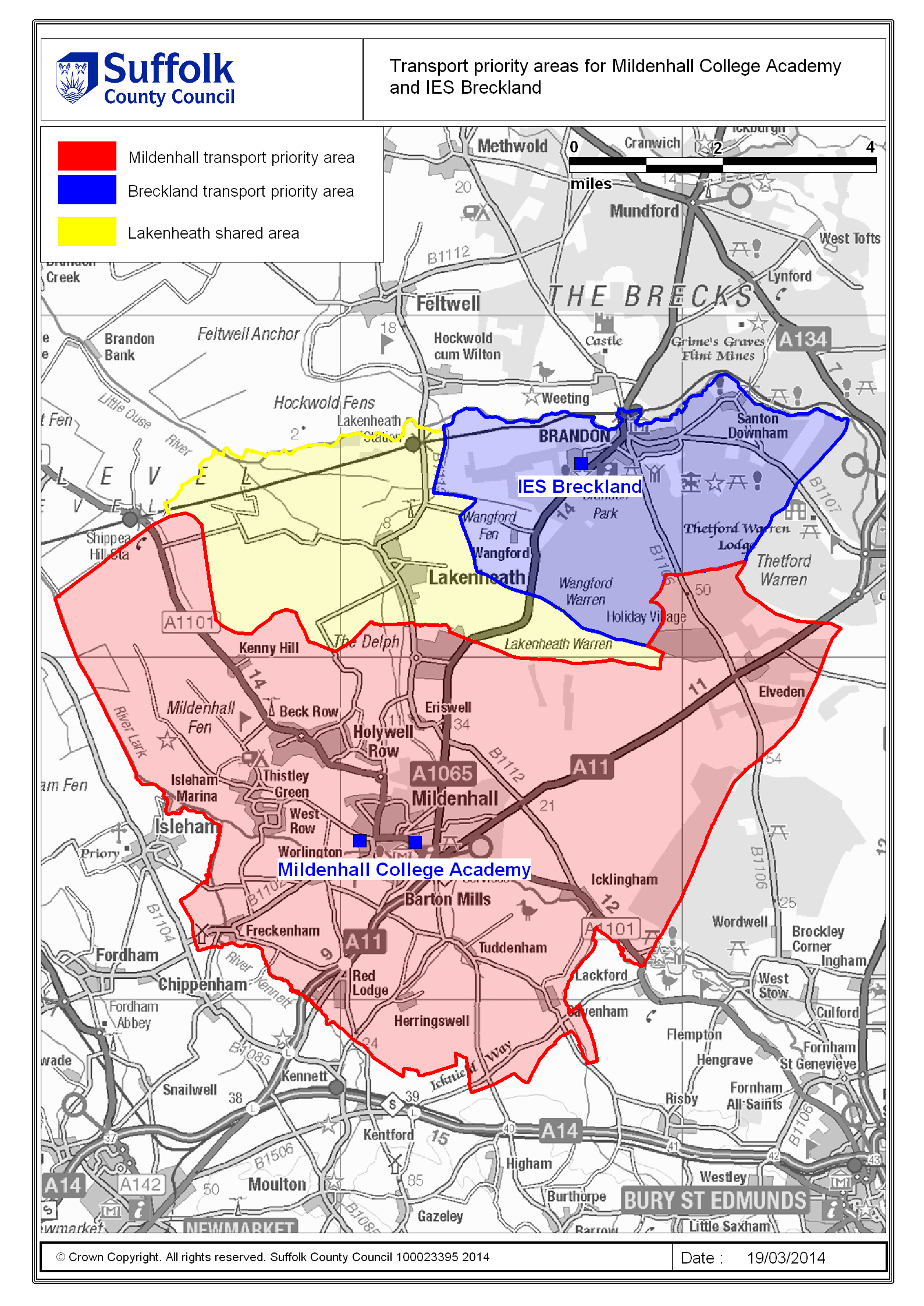 suffolk on board  home to school transport  documents  - click here to view an area map for this school