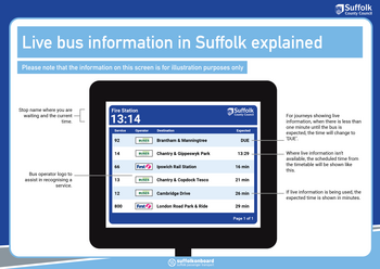 Suffolk on Board - Bus / Timetables