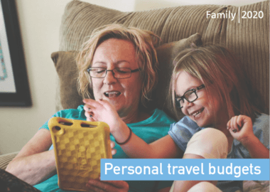 Personal Travel Budgets