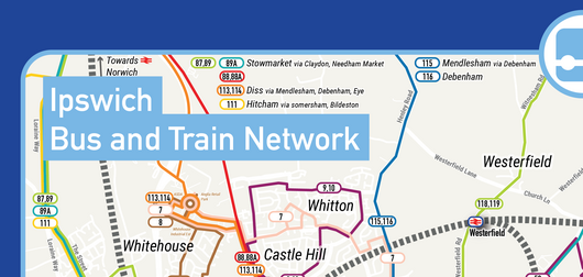 Ipswich Bus And Train Network Map 5 4mb Ef Bb Bf